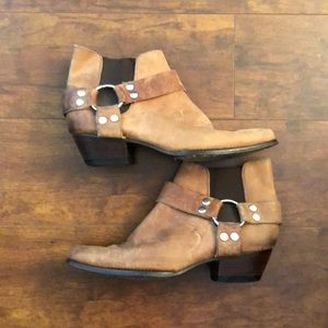 Vintage Guess georges maricano leather booties sz8